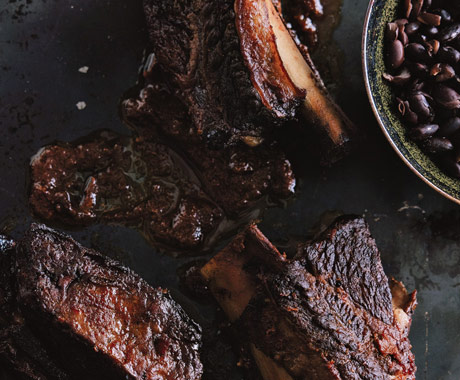 (Photo Credit: http://www.epicurious.com/recipes/food/photo/Braised-Chile-Spiced-Short-Ribs-with-Black-Beans-351293 Braised Short Ribs Romulo Yanes)
