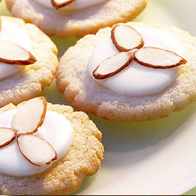 Almond Galzed Sugar Cookies