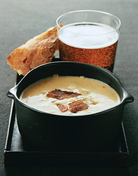 (Photo Credit: Romulo Yanes, http://www.epicurious.com/recipes/food/photo/Cheddar-Beer-Soup-231641)