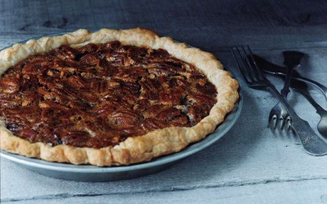 (Photo Credit: Romulo Yanes Bittersweet Chocolate Pie, http://www.gourmet.com/images/recipes/2007/11/rs_pies_pecan608.jpg)