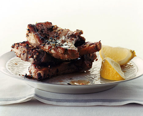 Pork chops Lemon