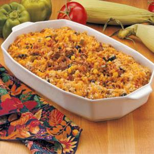 Rice Hotdish
