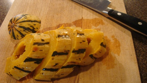 Photo Credit: Paul Gauche Delicata Squash