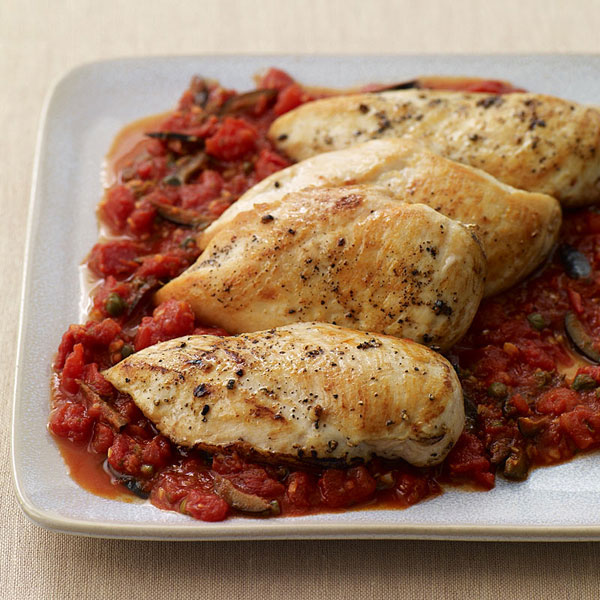 Chicken Breast Saute' Puttanesca-Style | Cooking From Memory ~ A ...