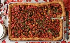 Herbed Tomato Tart Saveur